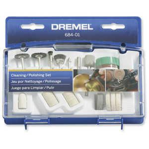 Dremel 684-01 Cleaning Polishing Set 20pc