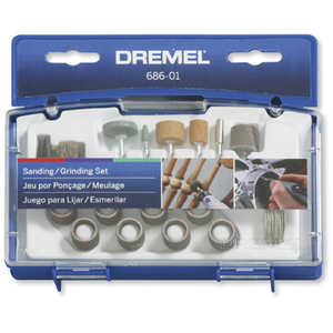 Dremel 686-01 Sanding Grinding Set 31pc