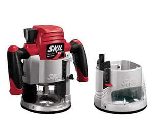 Skil 1825 Router 21/4hp 2 in 1 Combo W/Lite