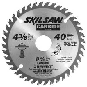 Skil 75540 4-3/8 in Carbide Flooring Blade 3/8 in