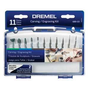 Dremel 689-01 Tool Carving Engraving W/Case