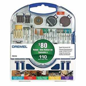 Dremel 709-01 Super Accessory Kit 110-Piece