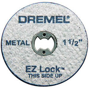 Dremel EZ456 Ez Lock Metal Cutoff Wheels 5pc