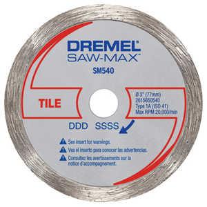Dremel SM540 Wheel Tile Diamond