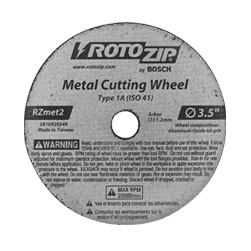 Rotozip RZMET2 Cut Off Wheel For Metal
