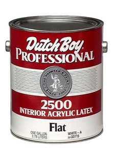 Dutch Boy 1.2533115-16 Pro2500 Flat White Gal