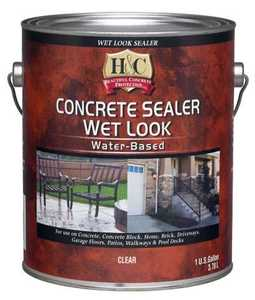 H&C Concrete 50.048054-16 Wet Look Concrete Sealer Gal