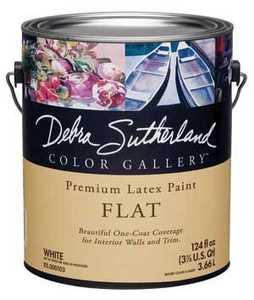 Debra Sutherland DS.000107-16 Debra Sutherland Flat Interior Ultra White Gallon