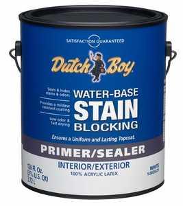 Dutch Boy 1.0029221-16 Primer/Sealer Stain Blocker Interior/Exterior Gallon