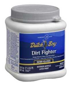 Dutch Boy 1.DB58309-14 Dirt Fighter Interior Latex Paint Semi Neutral Base D Qt