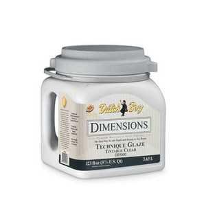 Dutch Boy 1.0DB1000-16 Dimensions Interior Acrylic Tec Glaze Gal