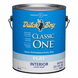 Dutch Boy 1.0048209-16 Classic One Flat Neutral Base Gallon