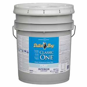 Dutch Boy 1.0048203-20 Classic One Interior Latex Paint Flat Base 5-Gal