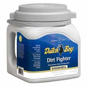 Dutch Boy 1.DB58409 Dirt Fighter Interior Latex Paint Eggshell Base Gallon