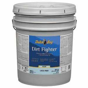 Dutch Boy 1.DB58203 Dirt Fighter Interior Latex Paint Flat Base 5-Gallon