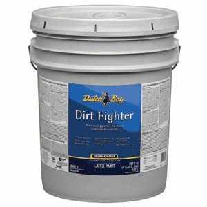Dutch Boy 1.DB58303 Dirt Fighter Interior Latex Paint Semi-Gloss Base 5-Gallon