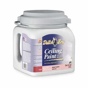 Dutch Boy 1.0DB1540 Dirt Fighter Latex Ceiling Paint Flat Bright White Gallon