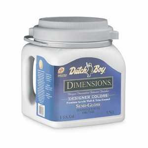 Dutch Boy 1.DB67405 Dimensions Interior Acrylic Paint Deep Tone Undercoat Gallon