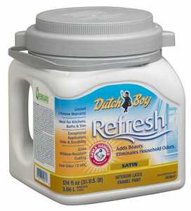 Dutch Boy 1.DB78607-16 Refresh Interior Paint Satin Accent Base U White Gallon
