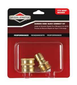 Briggs & Stratton 6190 Garden Hose Quick Connect Kit For Pressure Washer