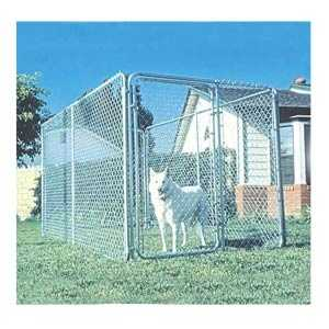 Southwestern Wire Inc. KIT Dog Kennel Plain 6 ft X 12 ft X 6 ft