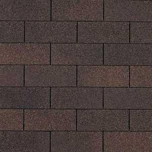 Owens Corning SA23 Supreme Fiberglas Roof Shingles Brownwood
