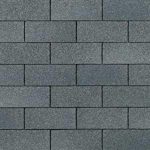 Owens Corning SA20 Supreme Fiberglas Roof Shingles Estate Gray