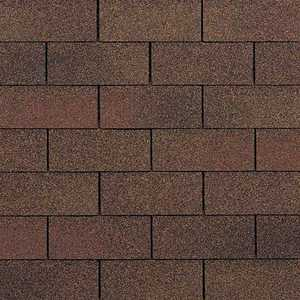 Owens Corning SA09 Supreme Fiberglas Roof Shingles Autumn Brown