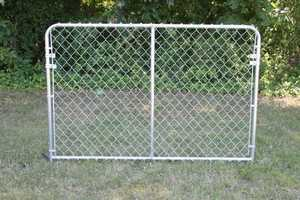 STEPHENS PIPE & STEEL DKS00604 6 ft x 4 ft Silver Series Galvanized Steel Kennel Panel