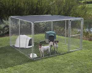 STEPHENS PIPE & STEEL DKTB11010 10 ft x10 ft Kennel Shade Cover