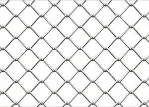 STEPHENS PIPE & STEEL CL435014 6 Ft X 25 Ft 12.5 Gauge Galvanized Steel Chain Link Fence Fabric