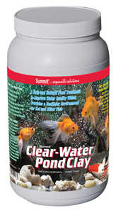 SUMMIT CHEMICAL CO 138 Clear-Water Pond Clay Treatment 7 Lb