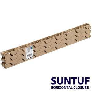 Palram Americas 92770 Suntuf Horizontal Plastic Closures