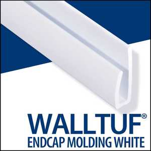 Palram Americas 92588 WallTuf Cap 8 ft White