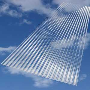 Palram Americas 140617 SunSky Panel Mini Wave Clear 12 ft x26