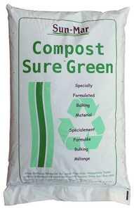 Sun-Mar Corp BAG Compost Sure Green Bulking Material 30 Liter Bag