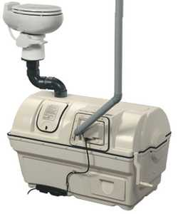 Sun-Mar Corp 2000 High Capacity Composting Toilet System For Low Flush Toilets