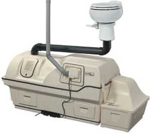 Sun-Mar Corp 3000 Centrix 3000 Ultra High Capacity Composting Toilet System