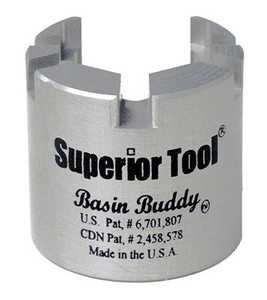 SUPERIOR TOOL CO 03825 Basin Buddy Faucet Nut Wrench