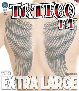 Tinsley Transfers Inc. XL-701 Wings Temporary Tattoo