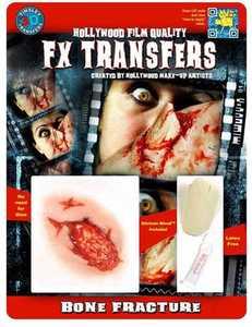 Tinsley Transfers Inc. FXTM-600 Bone Fracture Temporary Tattoo