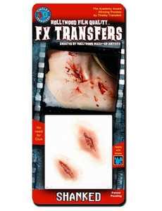 Tinsley Transfers Inc. FXTS-404 Shanked Temporary Tattoo