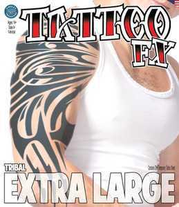 Tinsley Transfers Inc. XL-702 Tribal Temporary Tattoo