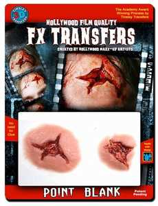 Tinsley Transfers Inc. FXTM-509 Point Blank Temporary Tattoo