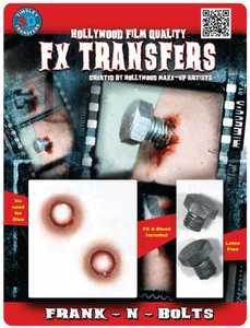 Tinsley Transfers Inc. FXTM-518 Frank-N-Bolts Temporary Tattoo