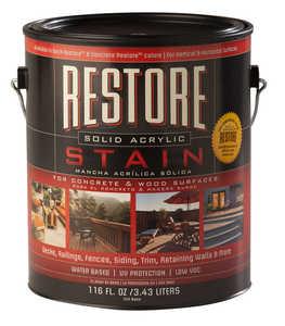 Restore 47000 Solid Acrylic Stain Adobe Gallon