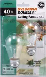 Sylvania/Osram/LEDVANCE 10034 40w Fan Bulb Double Life Reg Base