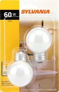 Sylvania/Osram/LEDVANCE 10301 60w Incandescent Bulb 60g16.5/W/Bl