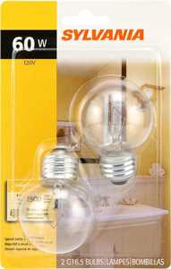 Sylvania/Osram/LEDVANCE 10302 60w Incandescent Bulb 60g16.5/Bl