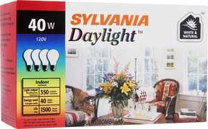 Sylvania/Osram/LEDVANCE 10864 40w Incandescent Bulb 40a/Day/Rp/4/48